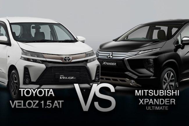 Mitsubishi Xpander vs Avanza Veloz 2019